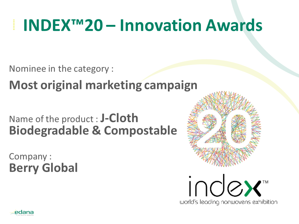 INDEX20 Innovation awards intro slide Berry