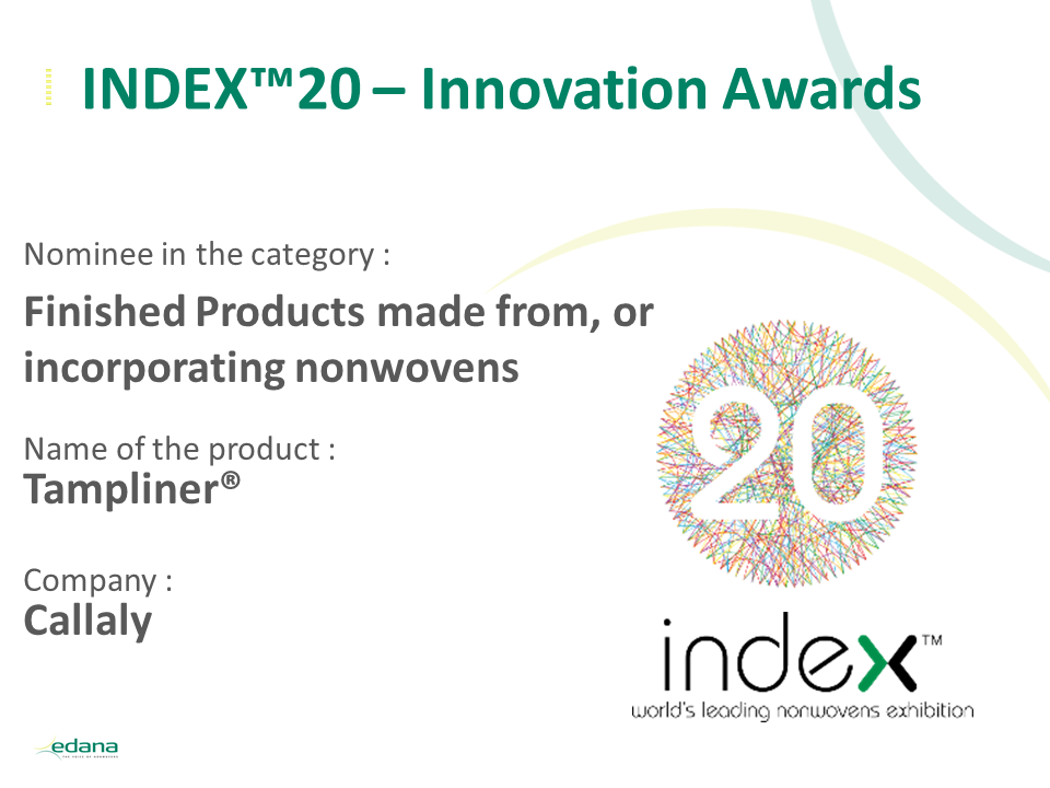 INDEX20 Innovation awards intro slide Callaly