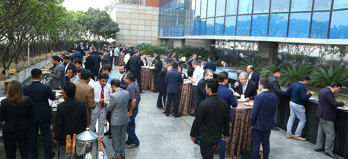 OUTLOOK India 2019 Networking lunch